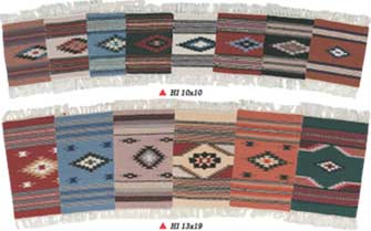 15 x 20 Wool Mat - Chimayo Design
